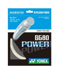 Yonex BG 80 POWER BADMINTON STRINGS