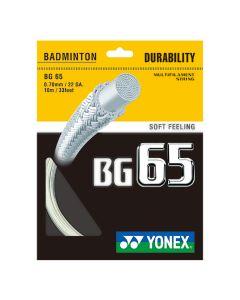Yonex BG 65 BADMINTON STRINGS MAIN