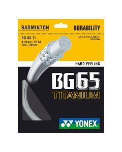 Yonex BG 65 TITANIUM BADMINTON STRINGS MAIN