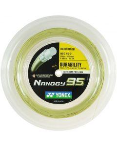 Yonex NANOGY 95 BADMINTON 200M REEL