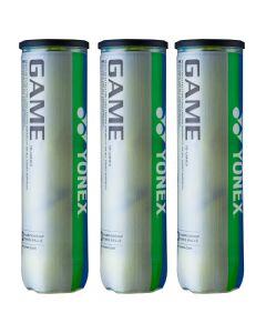 Yonex GAME TENNIS BALLS 1 DOZ. TB-GM4