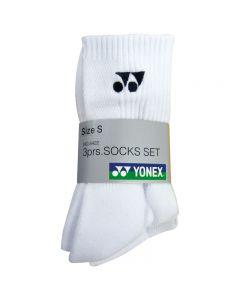 yonex SPORT CREW SOCKS (3 PAIRS) W8422